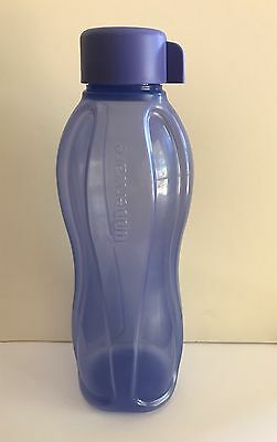 "Tupperware 1L ""H2O on the Go"" Eco Drink bottle with Screw top lid"