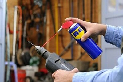 WD40 Smart Straw 400ml Oil Lubricant Spray for Rust Corrosion FREE SHIPPING NEW
