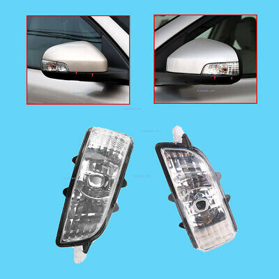 NEW LEFT + Right  DOOR MIRROR TURN SIGNAL INDICATOR LENS for Volvo S40 S60 S80