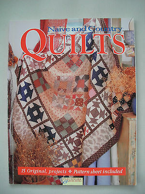 Naive and Country Quilts - Craftworld Books - Quilting Pattern Book