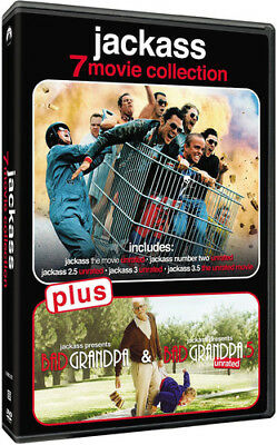 Jackass 7-Movie Collection [New DVD] Boxed Set, Widescreen