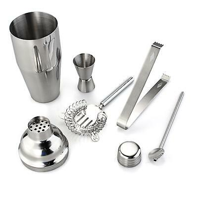 Set Cocktail Shaker con Accessori In Acciaio INOX per Bar Feste