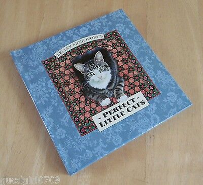 Vintage lesley Anne Ivory Perfect Little Cats Hardback Book