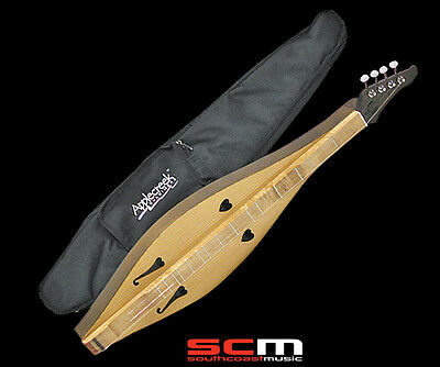 Appalachian Mountain Dulcimer Hand Made In Romania With Gig Bag & Instructions