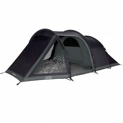 Vango Beta 450 XL 4 Man Person Camping Tunnel Tent in Black - 2016