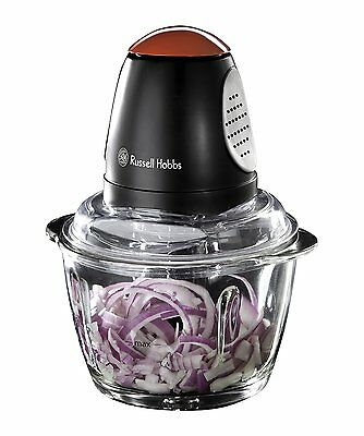 Russell Hobbs 18558 380W Desire Mini Chopper - Black