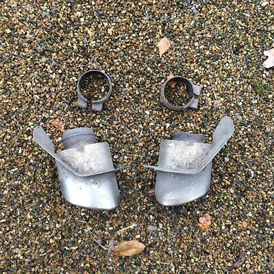 Porsche 911 993 Targa Tail Pipes and Clamps