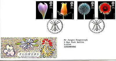 "Gb 1987 Royal Mail Official Fdc ""flowers"""
