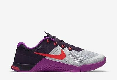 Nike Metcon 2 Women's Gym Cross Fit Training Trainers Uk 5.5Eur 39 (821913 002