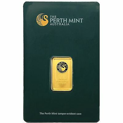 Australian Perth Mint 5 Gram Gold Bar