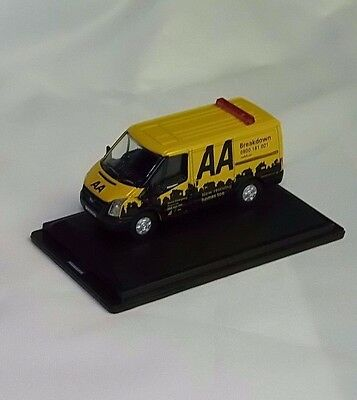 76FT016 Oxford Diecast Ford Transit SWB Low Roof AA 1/76 Scale OO Gauge