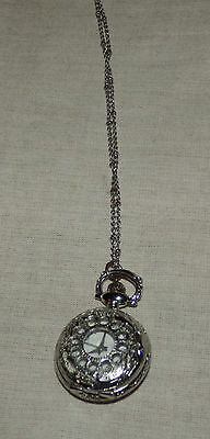 Lovely necklace fob watch