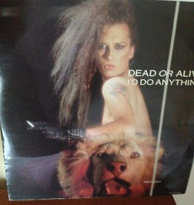 DEAD OR ALIVE I'D DO ANYTHING 12inch VINYL