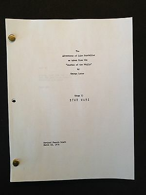 STAR WARS Screenplay by GEORGE LUCAS Draft 1976