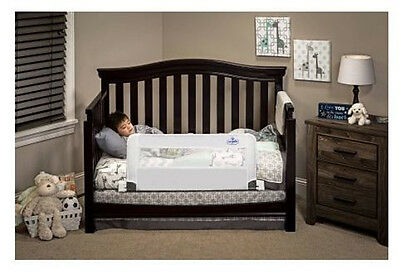 Regalo Convertible Rail Crib Swing Down Perfect For Kids And Bed Safety Toddler