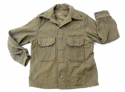 M51 Cold Weather Wool Shirt Army Green