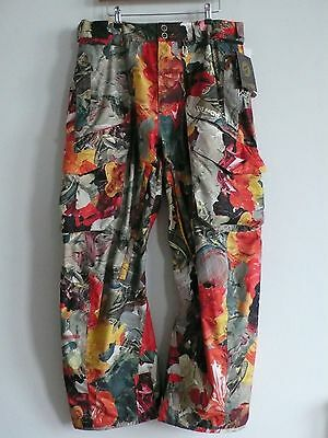 Volcom Snowboard Ski Pants Trousers Brand New Mens Large Bnwt
