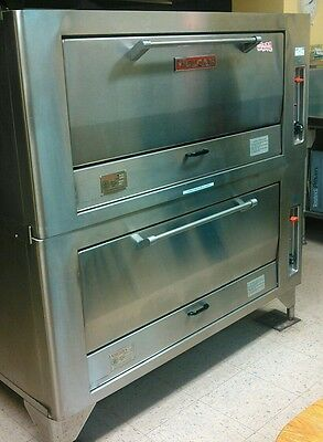 Vulcan-Hart commercial pizza ovens 7019a natural gas baking oven