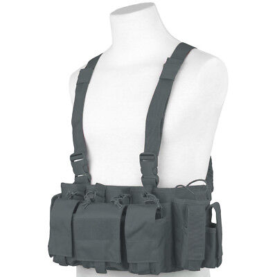 Viper Special Ops Chest Rig Patrol Military Tactical Ammo Carrier Vest Titanium