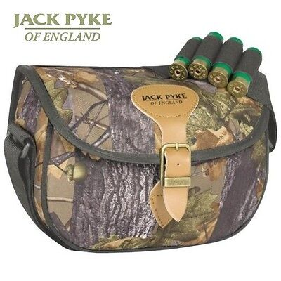 Jack Pyke Speedloader English Oak Cartridge Bag Shotgun Shooting