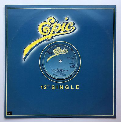 """D Train – You're The One For Me. Vinyl 12"""" Single. 1982"""