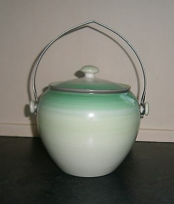 """Vintage """"Harmony"""" Biscuit Barrel By Shelley c.1925 - 1945"""