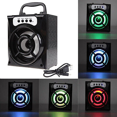 Outdoor Bluetooth Wireless Portable Super Bass Speaker with USB/TF/AUX/FM Radio
