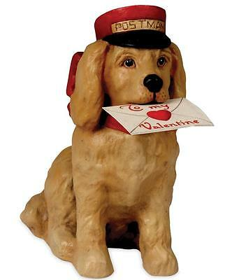 Bethany Lowe Valentine's Day Puppy Love Dog Figure with Letter