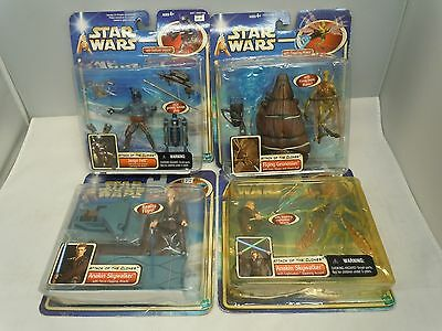 STAR WARS ATTACK OF THE CLONES AOTC FIGURE LOT 2002 MOC PICK&CHOOSE Hasbro