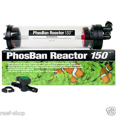 Two Little Fishies PhosBan Reactor 150 Phosphate Removal Reactor FREE USA SHIP