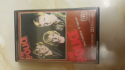 The Police - Uk Cassette Tape - Outlandos D'amour ~ Gmr 1590