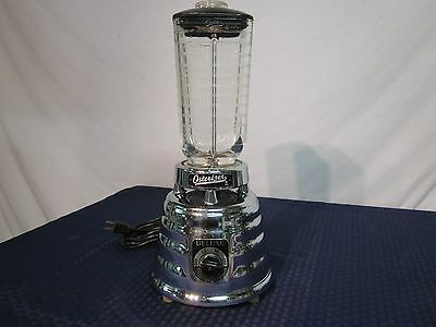 "Vintage Mid-Century Oster ""Osterizer Deluxe"" 2-Speed Blender Model 403. NICE."