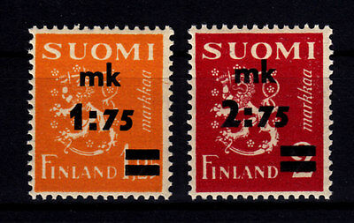 Finland 1940 - Sc# 221 - 222 Mint Never Hinged Set