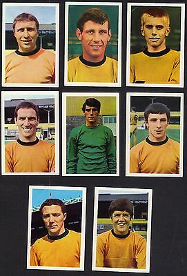 Wolverhampton Wanderers Football Cards/stickers Fks 1968-69.