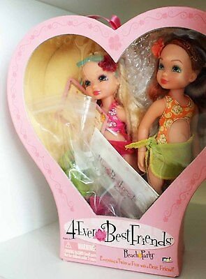 4-ever Best Friends Dolls beach party clothing and accessories