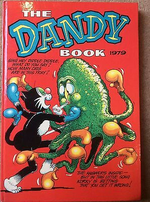 Vintage, The Dandy Book 1979, Annual
