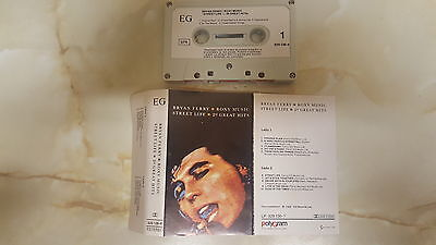 Bryan Ferry - Roxy Music - Street Life - 20 Great Hits - Cassette Tape Album