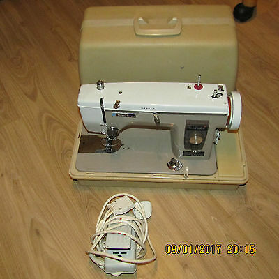 NEW HOME Vintage Semi Industrial Heavy Duty Sewing Machine ~ 1 Owner from new!