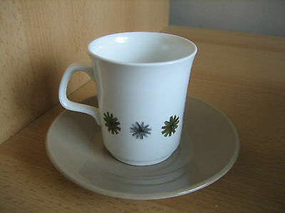 J & G Meakin 'allegro' Studio Ware Coffee Cup And Saucer