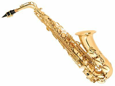 Odyssey OAS130 Debut Alto Saxophone Outfit complete in ABS Case