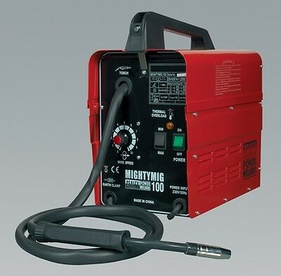 Sealey MIGHTYMIG100 Professional No-Gas Mig Welder 100Amp 230V Welding