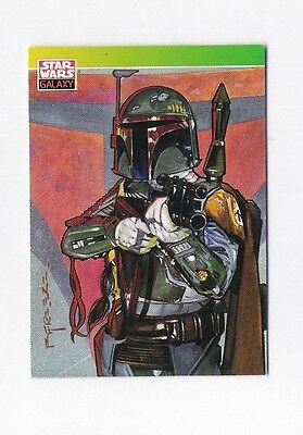 Star Wars Galaxy Series One: Boba Fett #127 Trading Card (NewVisions) Topps 1993