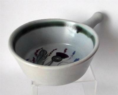 Buchan Pottery Scotland Thistle Pattern Egg Baker made in Stoneware