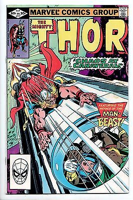 Thor #317 - Chaos at Canaveral (Marvel, 1982) - FN