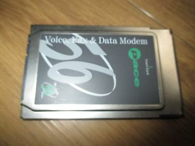 Pace Voice, Fax and Data PCMCIA Card