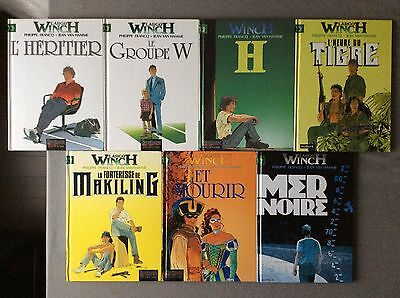 Lot 7 bd LARGO WINCH Tome 1, 2, 5, 7, 8, 10, 17