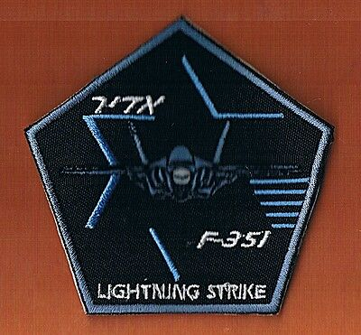 """F-35I  """"adir"""" Generic New  Extreme Rare  Patch  A Smaller Version"""