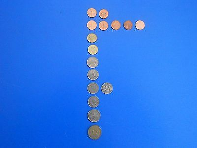 Singapore Coins - Selection of different value and age