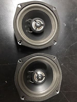 "5 1/4"" Hog Tunes Rear Speakers For Harley Touring"