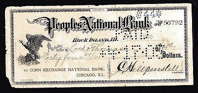 1905 Peoples National Bank - Rock Island, Ill